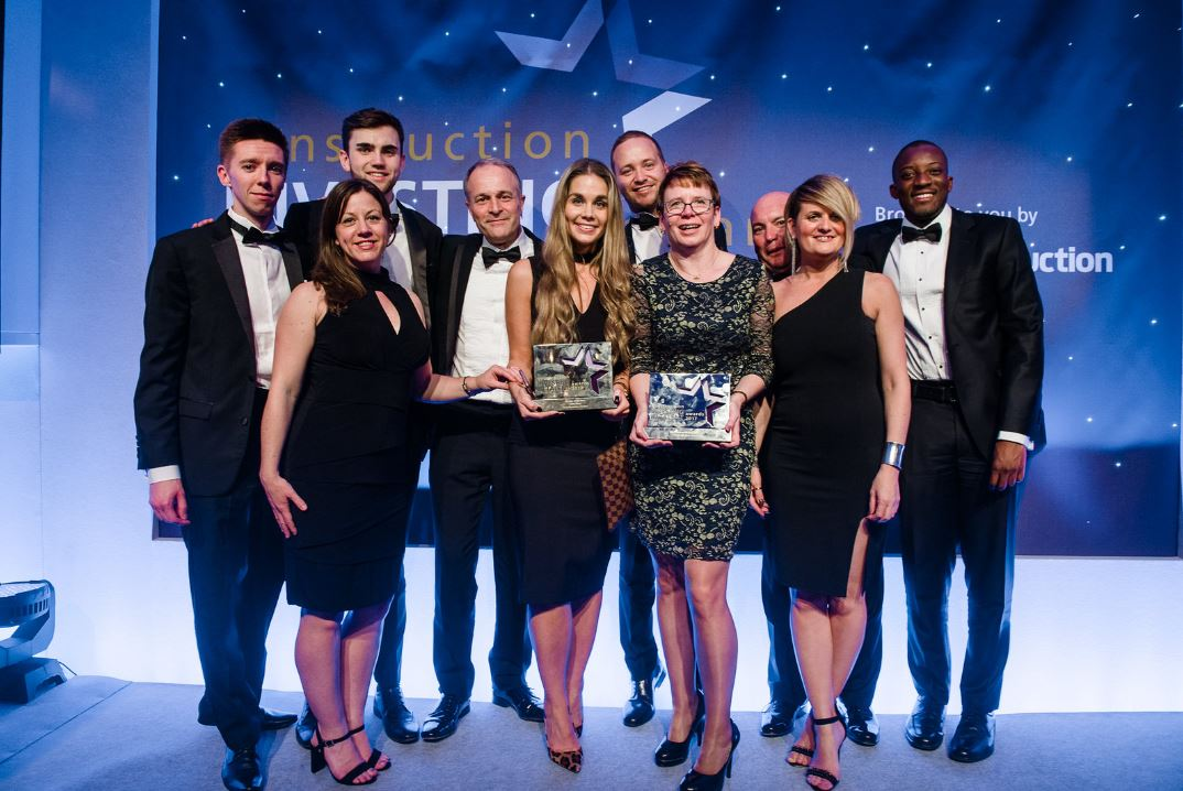 Double Celebrations For Tb A At The Construction Investing In Talent Awards 2017